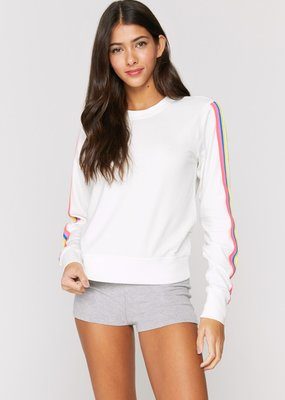 Spiritual Gangster Happiness Paulette Crewneck Stone