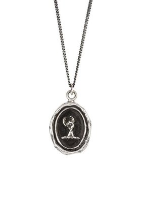 Pyrrha Take Charge Sterling Silver Curb Chain 20in