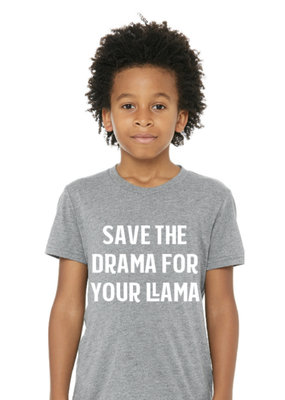 Portage & Main Drama Llama Tee