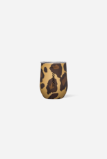 Corkcicle Luxe Leopard Stemless 12oz