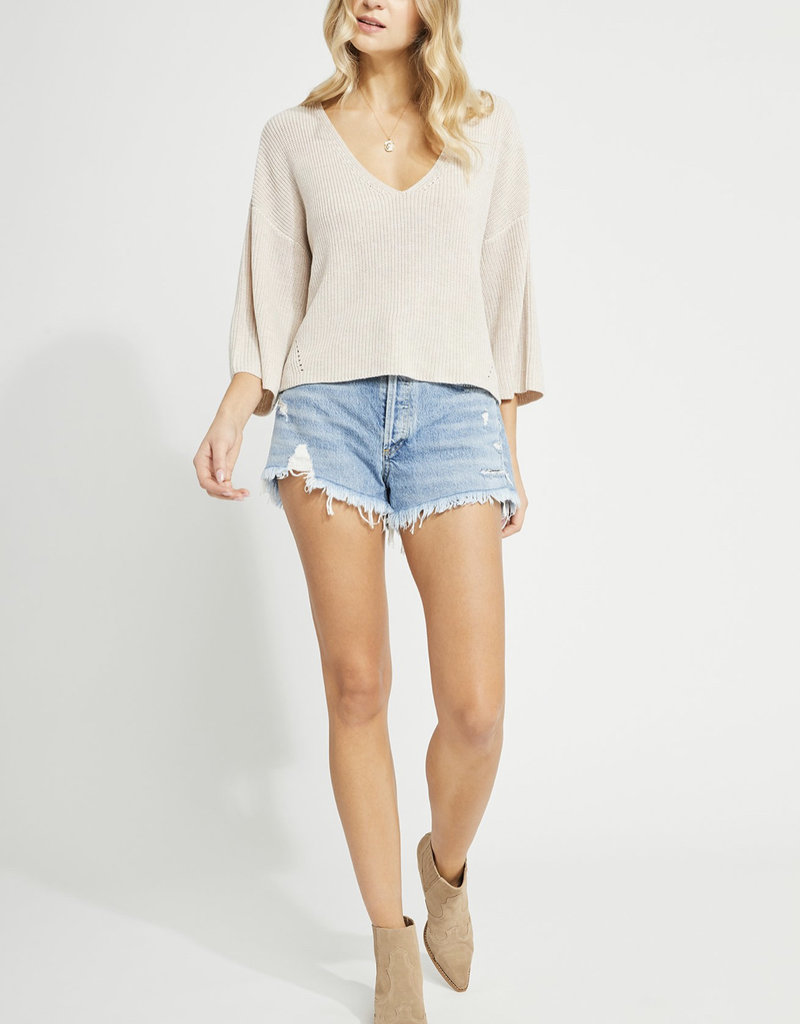 Gentle Fawn Nino Pullover, Light Oatmeal