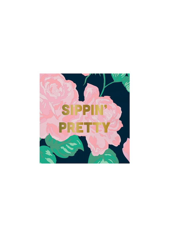 Slant Collections Sippin Pretty Napkins