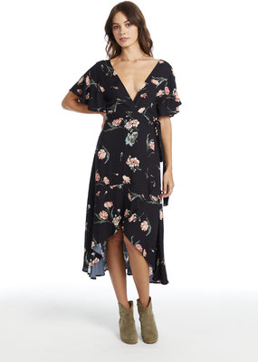 Saltwater Luxe Sleeve Wrap Dress