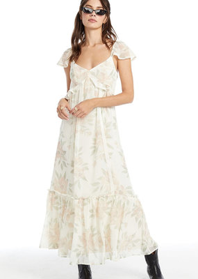 Saltwater Luxe California Bloom Grace Midi Dress