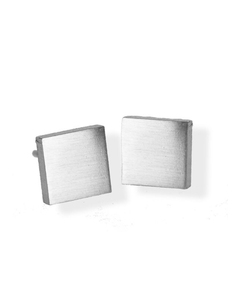 FAB Accessories Luxe Square Stud Earring/ Stainless Steel/ Hypoallergenic