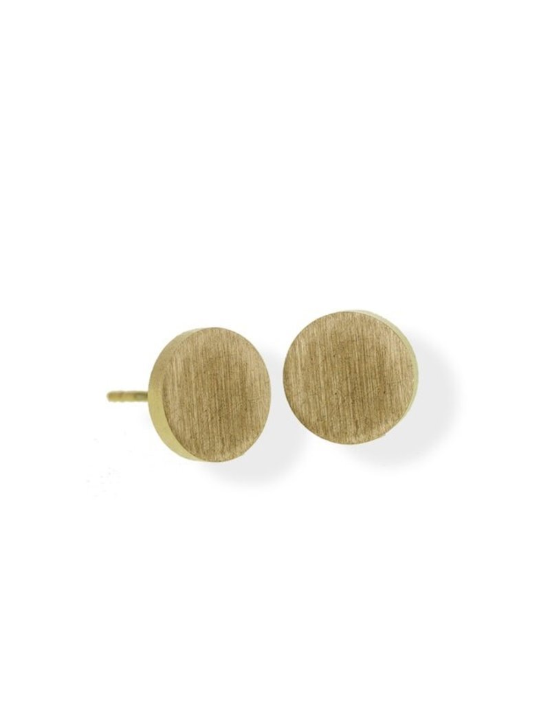FAB Accessories Classic Circle Stud Earring/ Stainless Steel/ Hypoallergenic