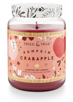 Tried & True Fragance Co. Tried & True Pumpkin Crabapple Jar