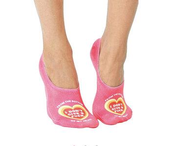 Bottom of My Heart Liner Socks
