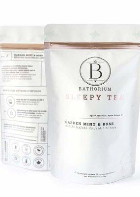 Bathorium Apres Bath Sleepy Time Tea Garden Mint + Rose, 20 sachets