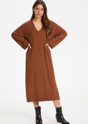 Part Two VivicaPW Dress Hazel Brown Melange