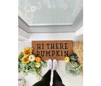 Hi There Pumpkin Doormat