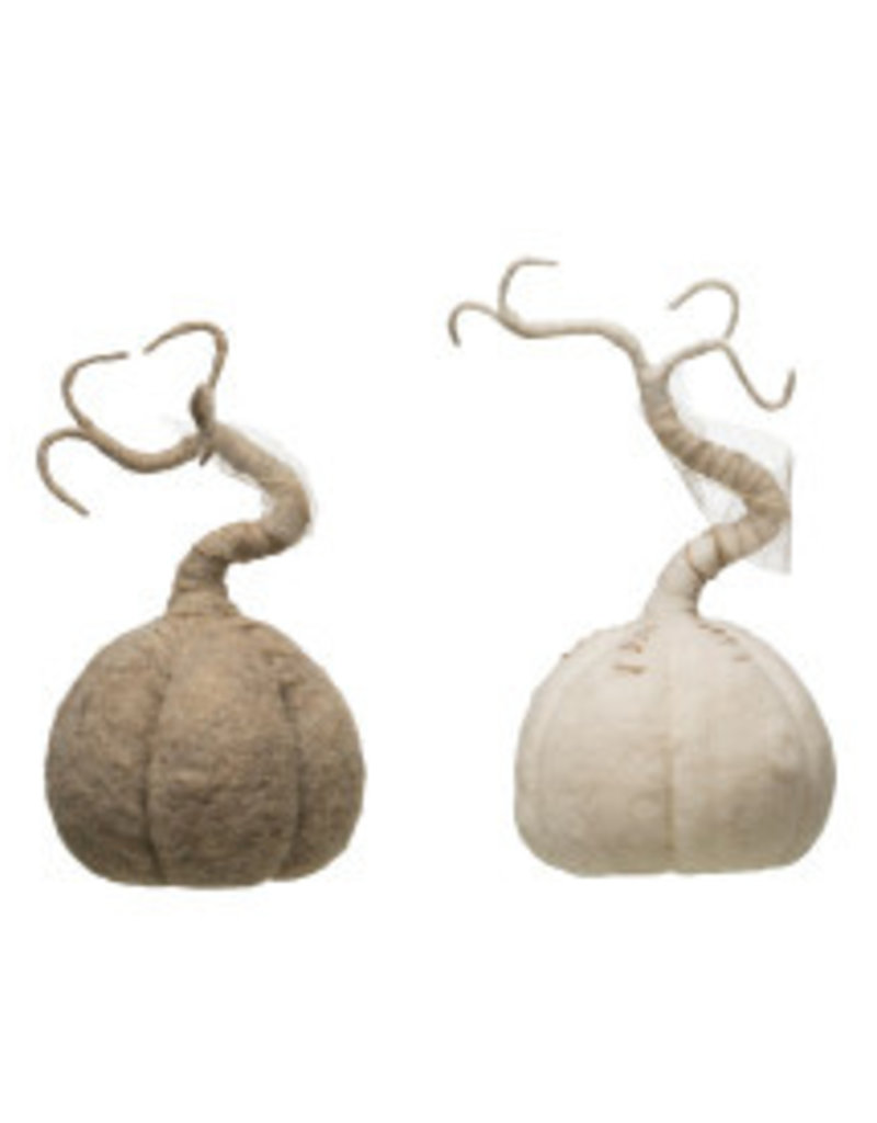 CREATIVE CO-OP Wool Felt Pumpkin