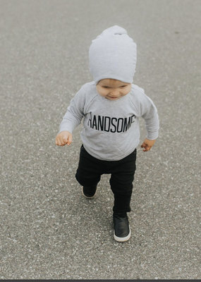 Posh & Cozy Handsome Toddler Crewneck