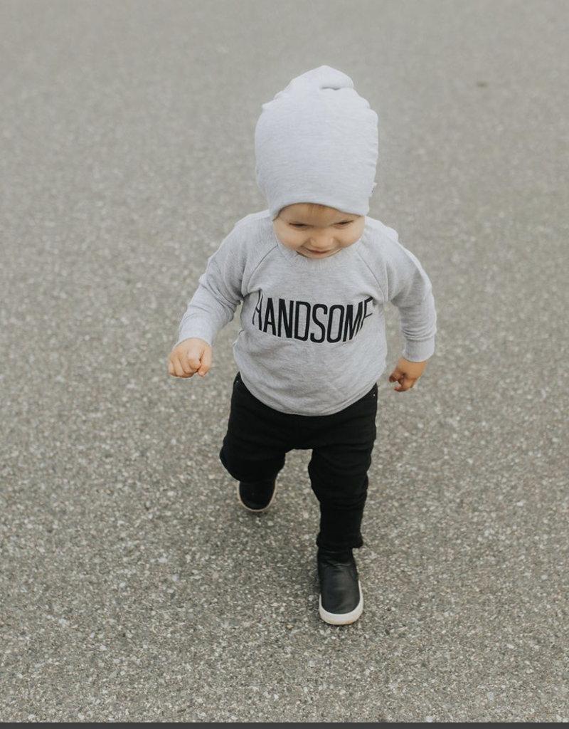 Posh & Cozy Handsome Toddler Crewneck