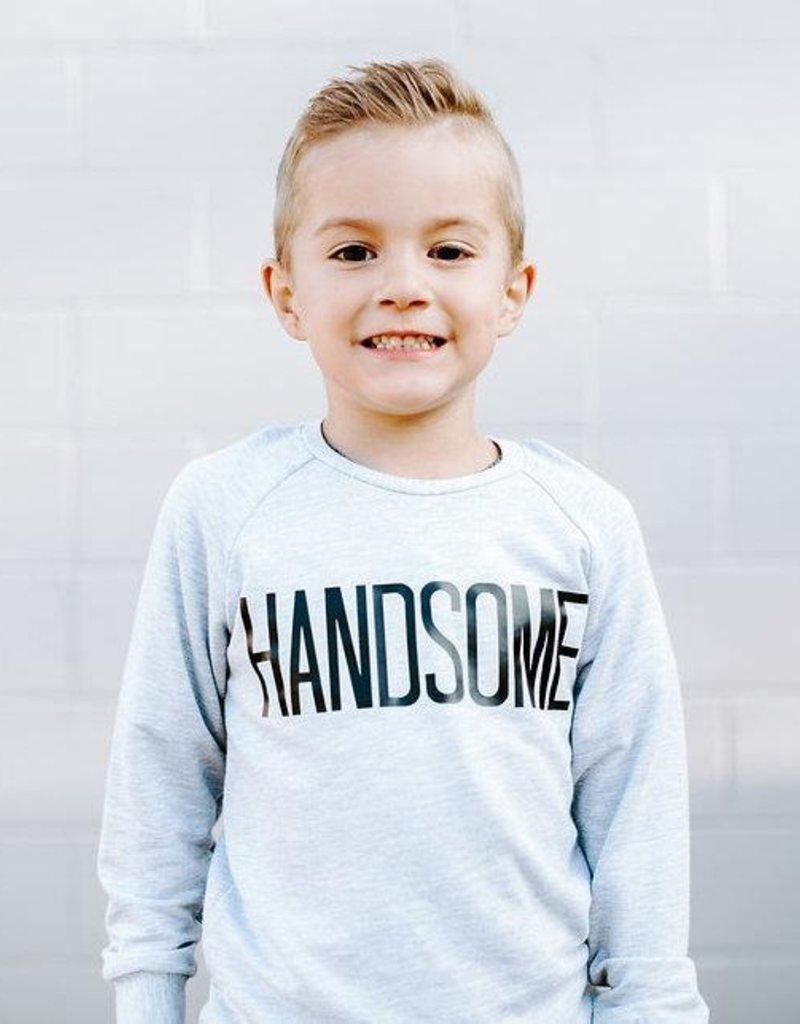 Posh & Cozy Handsome Youth Crewneck