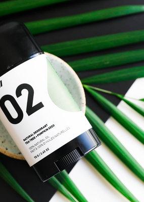 Way of Will Inc Natural Deodorant Tea Tree + Pumpkin Seed