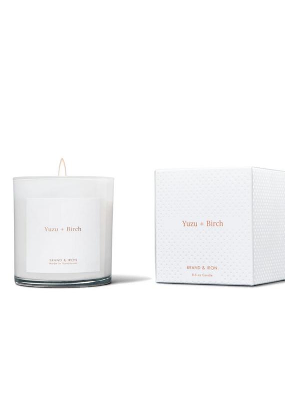 Brand & Iron Home Series Yuzu + Birch 8.5 oz