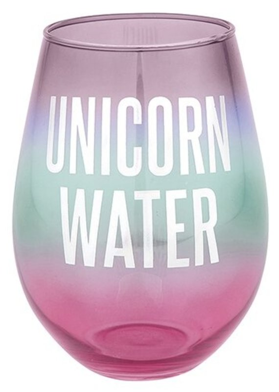 Slant Collections Unicorn Water Stemless 30oz