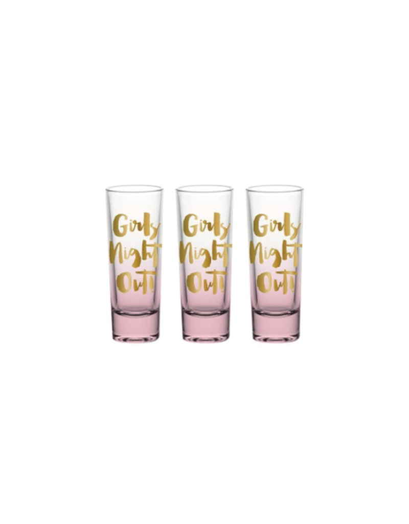 Slant Collections Shot Glass Girls Night Out 3pk