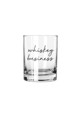 Santa Barbara Design Studio Rocks Glass Whiskey Business