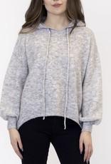 Lyla & Luxe Hoody Sweater Heather Grey
