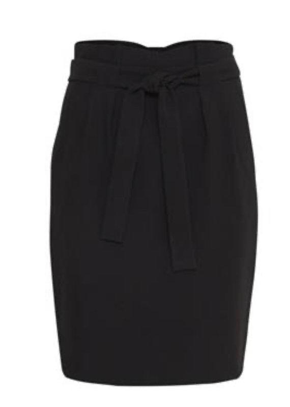 ICHI Hudeleih Skirt- Black