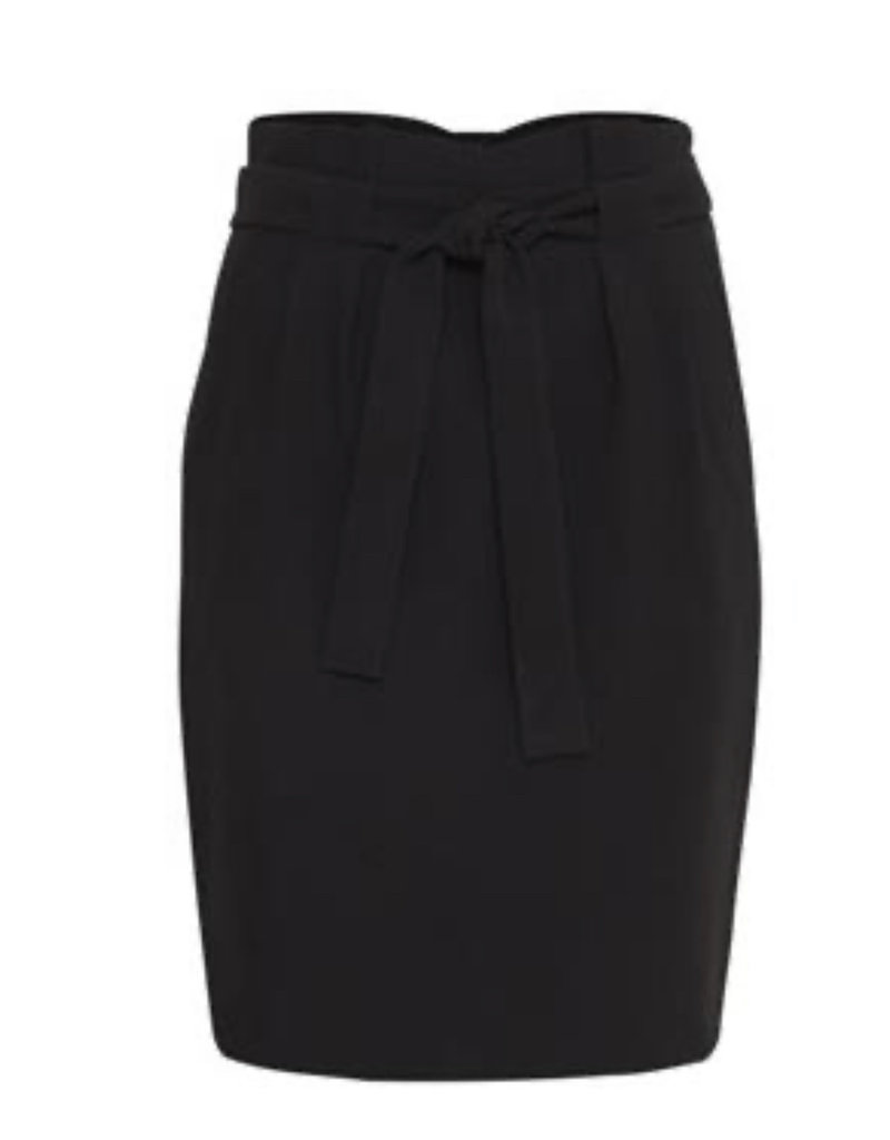 ICHI Hudeleih Skirt- Black