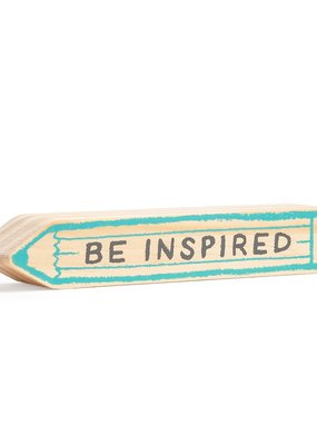 Compendium Be Inspired Sign (Small)