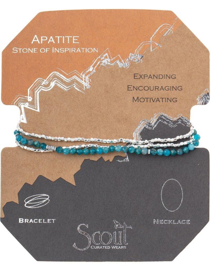 Scout Delicate Stone Apatite, Stone of Inspiration