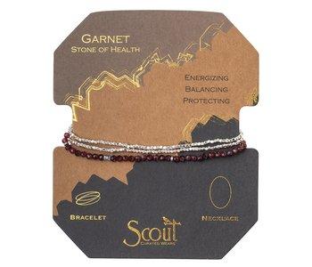 Delicate Stone Garnet, Stone of Health