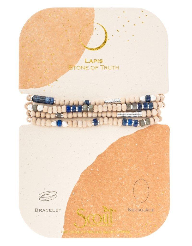 Scout Lapis/Silver Wrap
