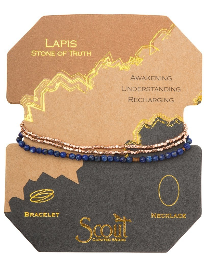 Scout Delicate Stone Lapis, Stone of Truth