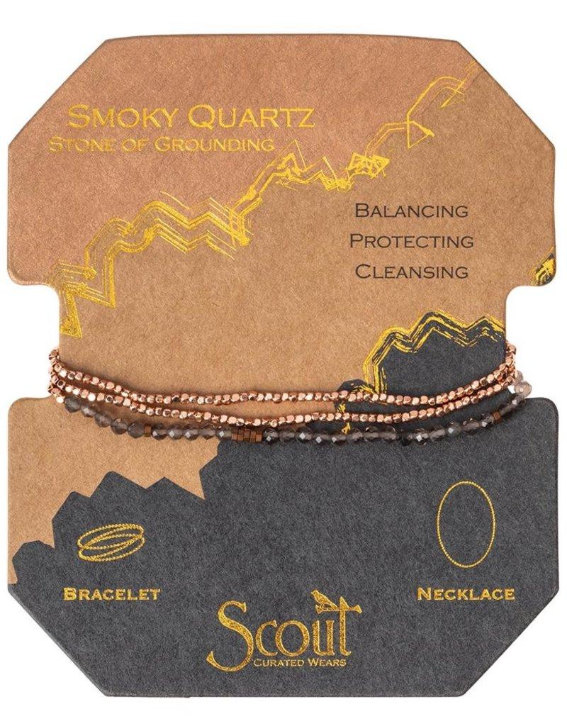 Scout Delicate Stone Smoky Quartz, Grounding