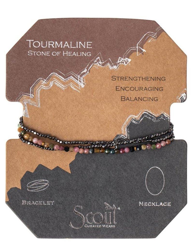 Scout Decliate Stone Tourmaline, Stone of Healing