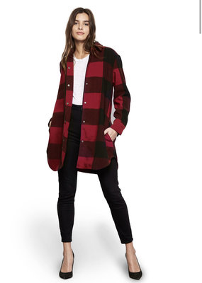 BB Dakota BB Dakota Eldridge Red Jacket