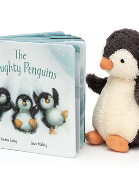 Jellycat Inc. The Naughty Penguins Book