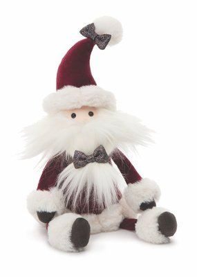 "Jellycat Inc. Crimson Santa Medium 15"""