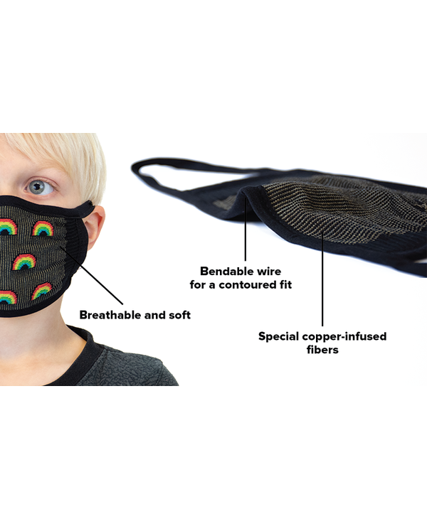The Rainbow Collection Face Mask