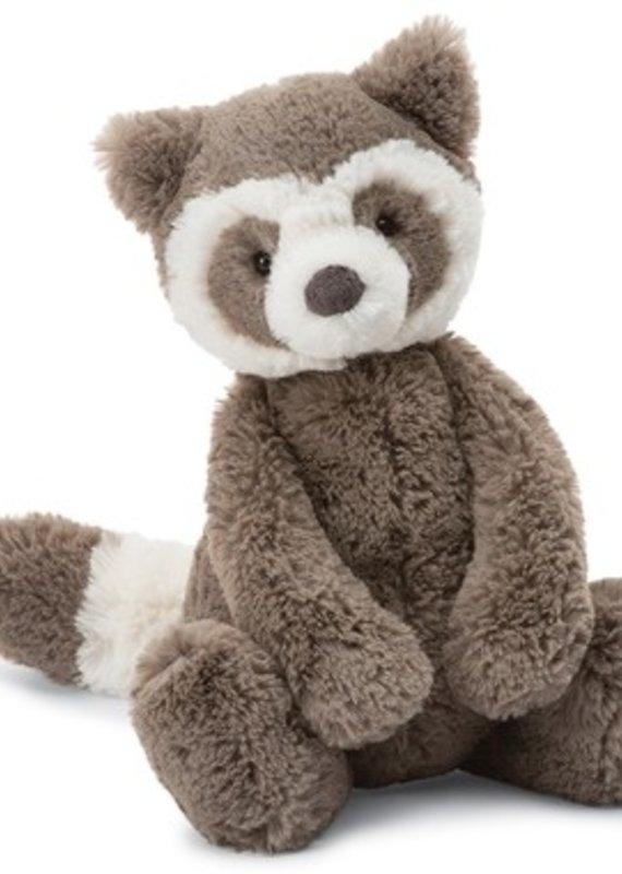 "Jellycat Inc. Bashful Raccoon Small 7"""