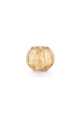 Illume Rustic Pumpkin Mercury Leaves