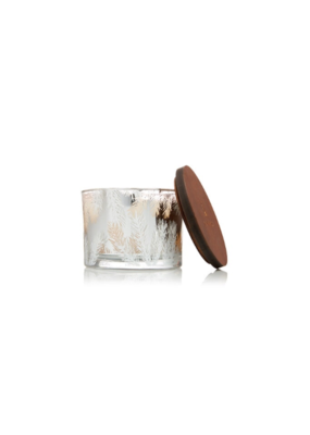 Thymes Frasier Fir Statement 3 Wick Candle 12.5oz