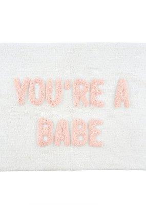 Indaba Trading Co. You're a Babe Bath Mat