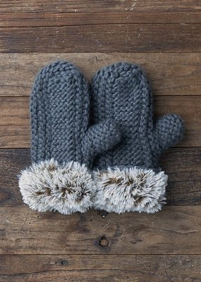 Lemon Winter Cabin Mitten O/S