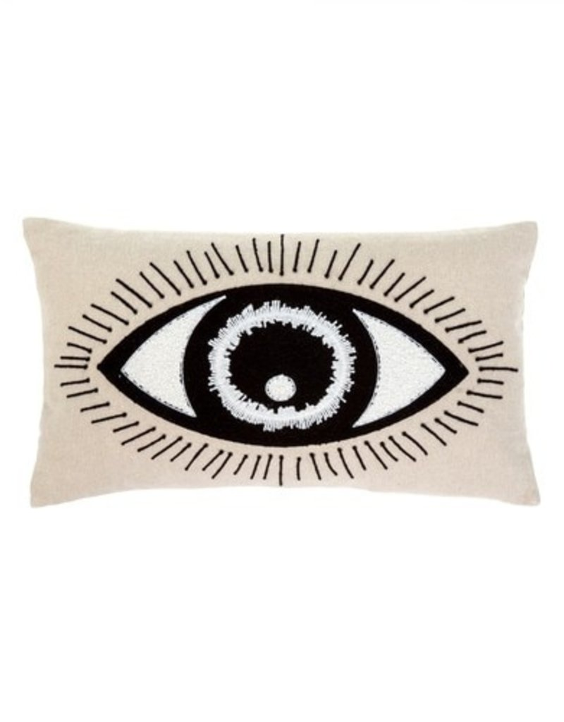 Indaba Trading Co. Bright Eyes Pillow 21x12