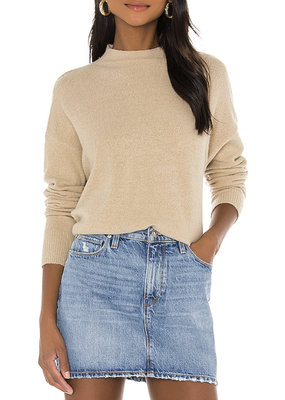 Mink Pink Warm Feelings Sweater Natural