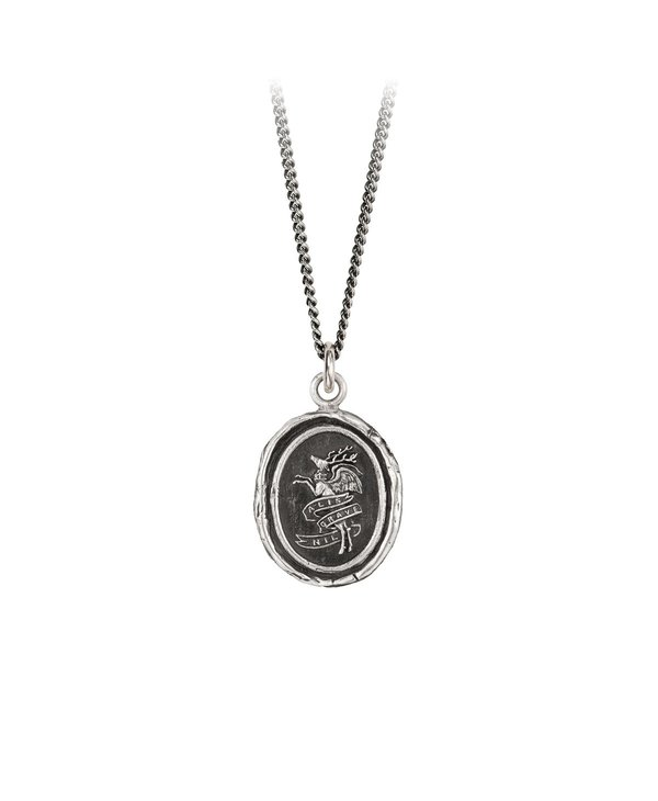 Nothing Is Heavy Sterling Silver 18in