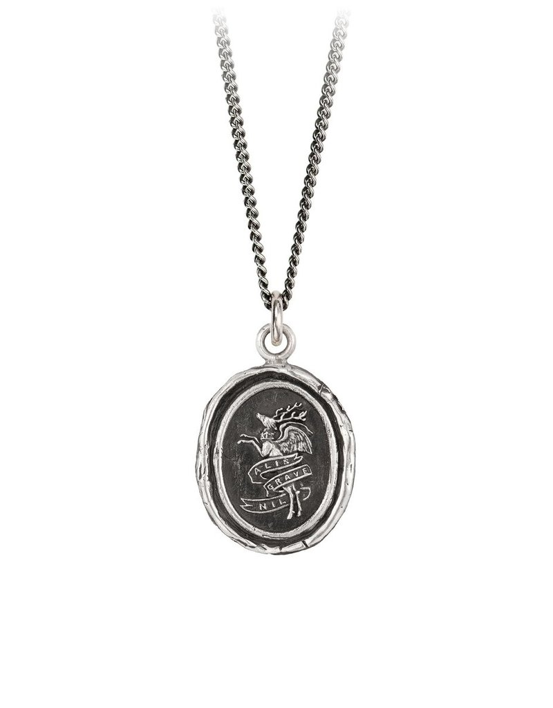 Pyrrha Nothing Is Heavy Sterling Silver 18in
