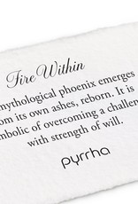 Pyrrha Fire Within Sterling Silver 18in