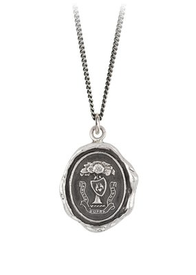 Pyrrha Family Above All Sterling Silver 18in