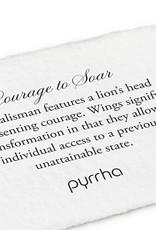 Pyrrha Courage To Soar Bronze 18in